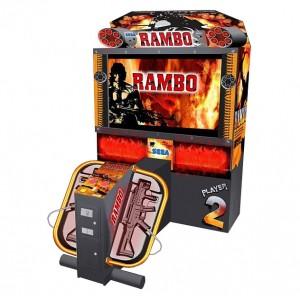 Sega Rambo Video Arcade Game